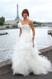 Romantische jurk met veel laagjes en tule, erg populair momenteel