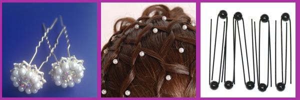 Bruidskapsels haaraccessoires bruid haarpinnen