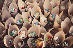 Ecorijst, (rijst)papier ideeen bruiloft gooien rijst